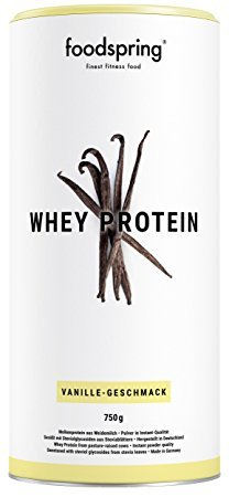Foodspring Whey Protein Pulver Vanille