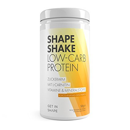 GET IN SHAPE Low-Carb Whey Protein-Pulver