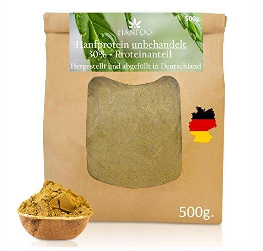 Hanfoo Hanfprotein-Pulver aus Deutschland 500g