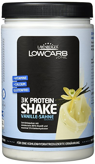Layenberger LowCarb.one 3K Protein-Shake Vanille-Sahne