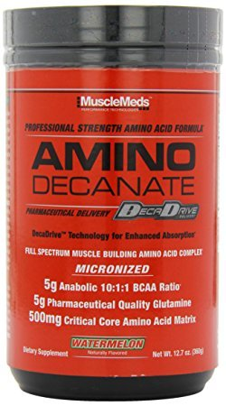 Musclemeds Amino Decanate 360g Watermelon