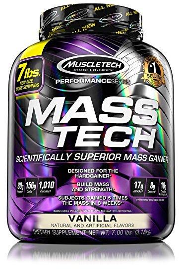 MuscleTech Mass-Tech - Vanilla