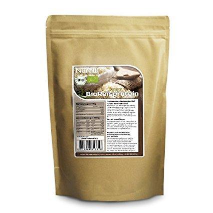 Nurafit BIO Reisprotein Pulver
