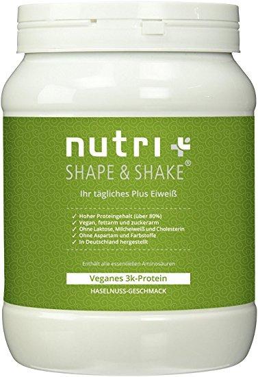 Nutri-Plus Shape & Shake Vegan Haselnuss