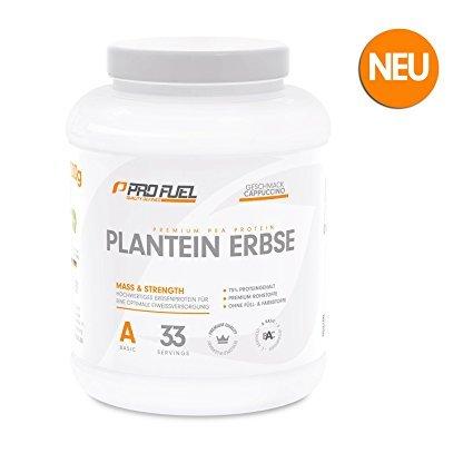ProFuel Erbsenprotein Isolat mit essentiellen Aminosäuren
