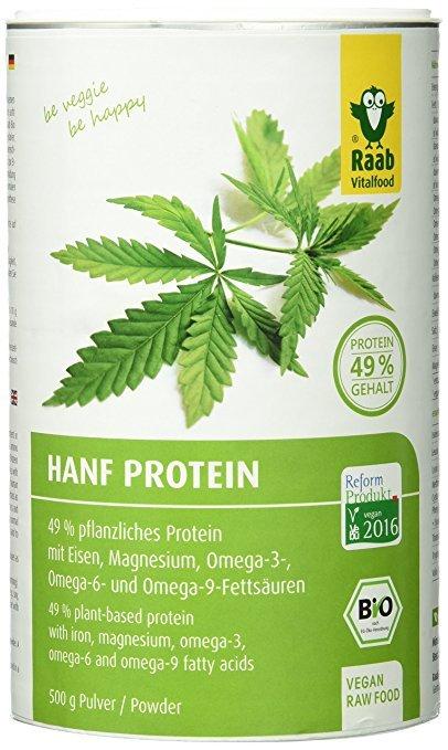 Raab Vitalfood Bio Hanfproteinpulver