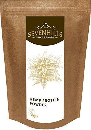Sevenhills Wholefoods  Roh Hanf-Proteinpulver