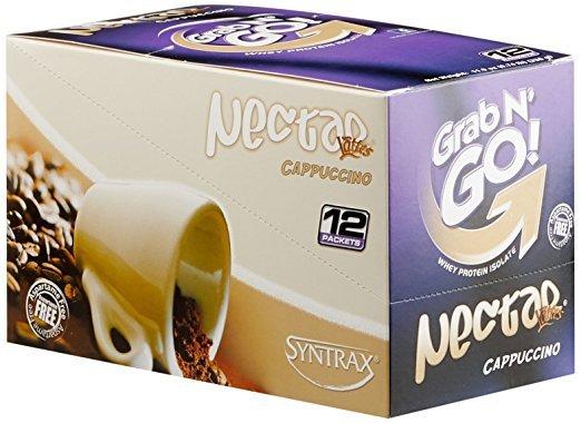 Syntrax Nectar Grab N Go Box Latte Cappuccino