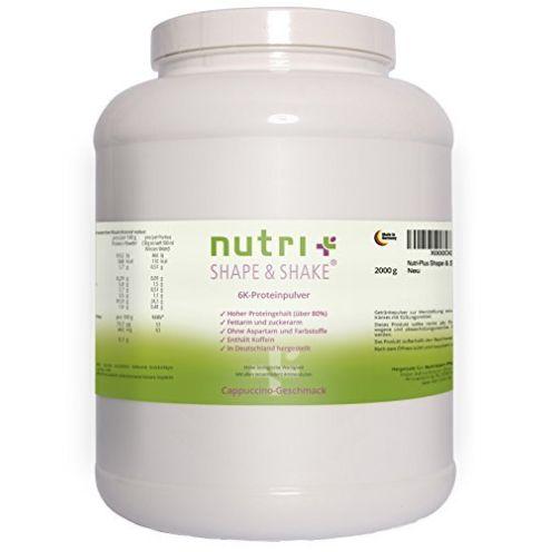 Nutri-Plus Shape & Shake Cappuccino