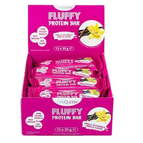 GymQueen Fluffy Protein Riegel