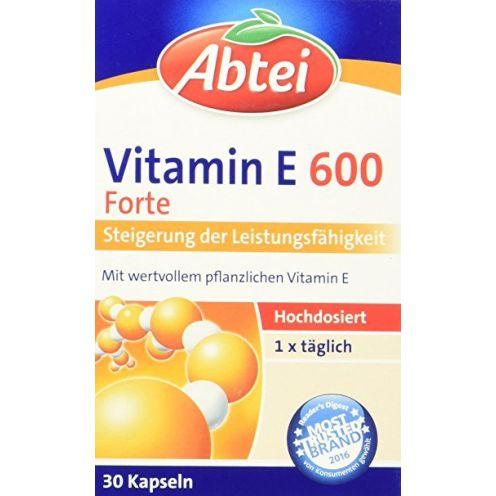 Abtei Vitamin E 600 N 30 Kapseln