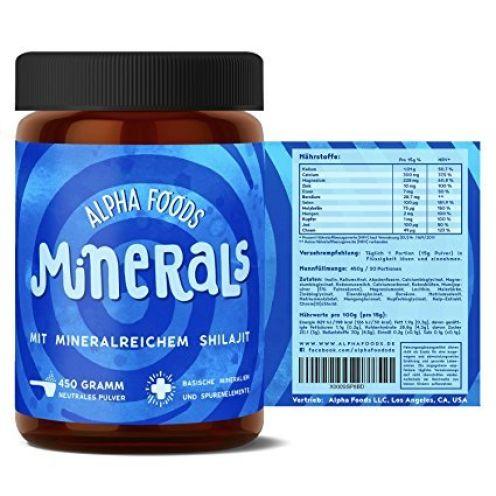 Alpha Foods Mineralien und Spurenelemente hochdosiert
