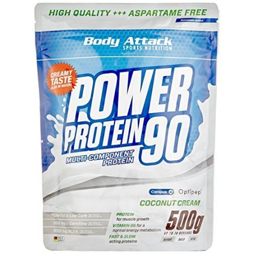 Body Attack Power Protein 90 Coconut Cream
