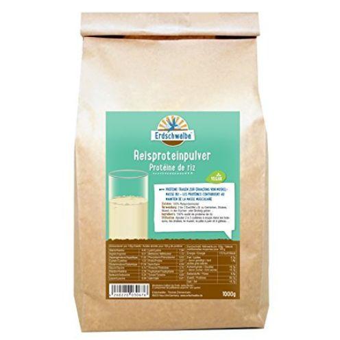 Erdschwalbe Reisprotein