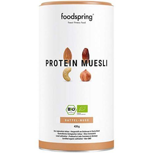 Foodspring Bio Protein Müsli Dattel-Nuss