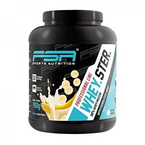 FSA Sports Nutrition Whey Protein Eiweißpulver Banane