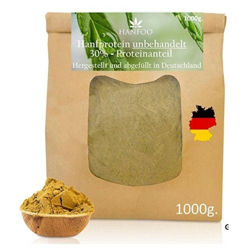 Hanfoo Hanfprotein-Pulver aus Deutschland