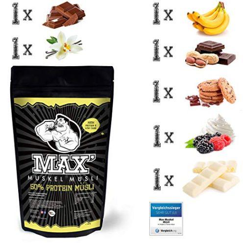 MAX MUSKEL MÜSLI Protein Müsli Low Carb