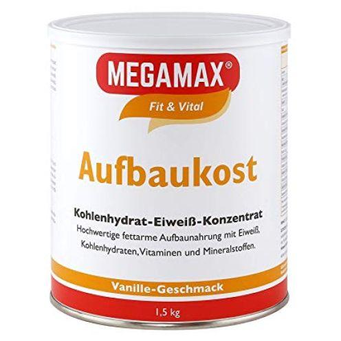 Megamax Aufbaukost Vanille 1.5 kg