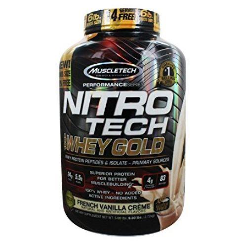 MuscleTech Nitro Tech Whey Gold Molke Eiweiß