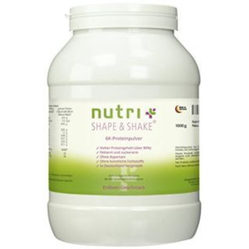 Nutri-Plus Shape & Shake 1kg Erdbeere