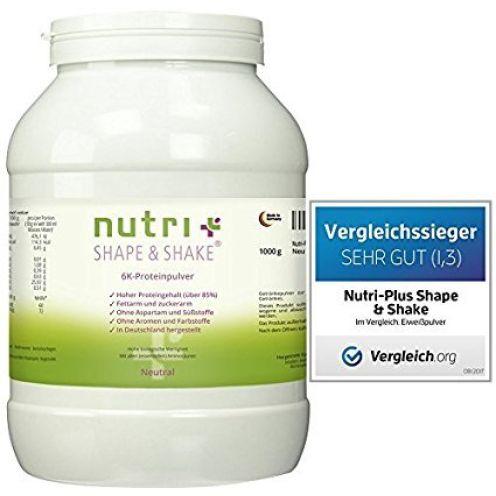 Nutri-Plus Shape & Shake Proteinpulver Neutral