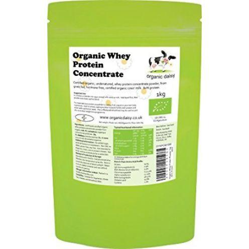 Organic Daisy  Bio Molkenprotein-Konzentratpulver