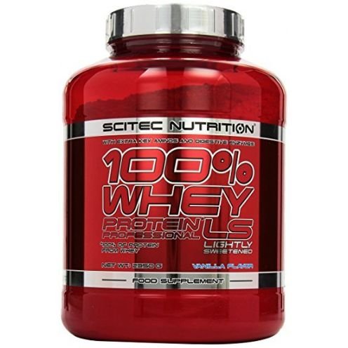 Scitec Nutrition Whey Protein Professional Lightely Sweetened Vanille