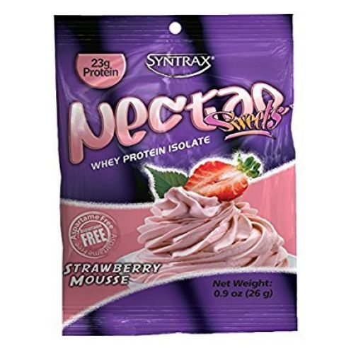 Syntrax Nectar Grab N Go Box Sweets Strawberry Mousse