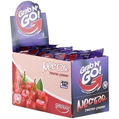 Syntrax Nectar Grab N Go Box Twisted Cherry