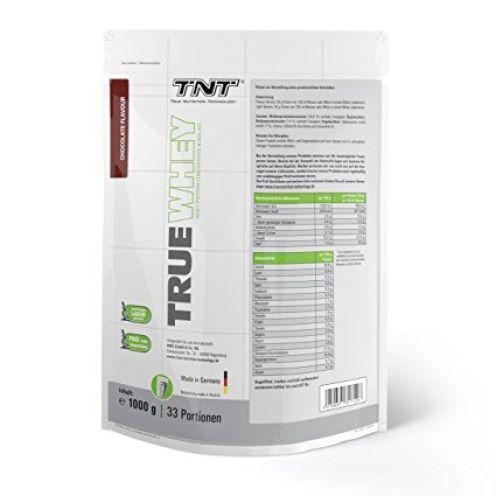 TNT True Nutrition Technology True Whey Proteinpulver