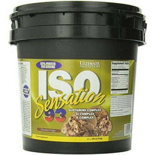 Ultimate Nutrition Iso Sensation 93 Chocolate Fudge