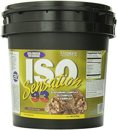 Ultimate Nutrition Iso Sensation 93 Chocolate Fudge