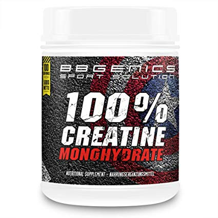 US Sports Nutrition by BBGENICS Creatin Monohydrate