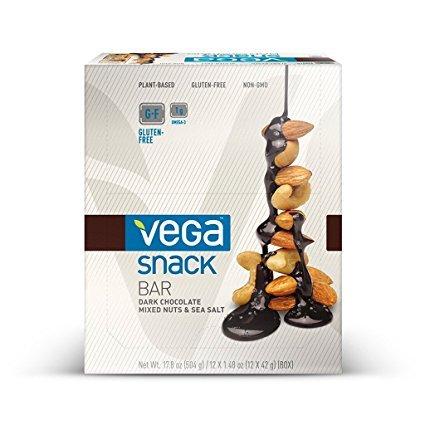 Vega Sport Snack Bar Chocolate Nuts Sea Salt