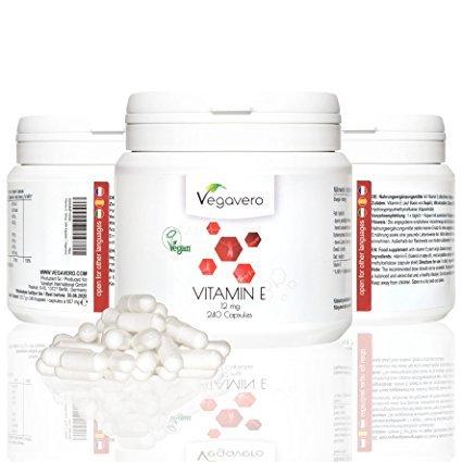 Vegavero Vitamin E 12 mg
